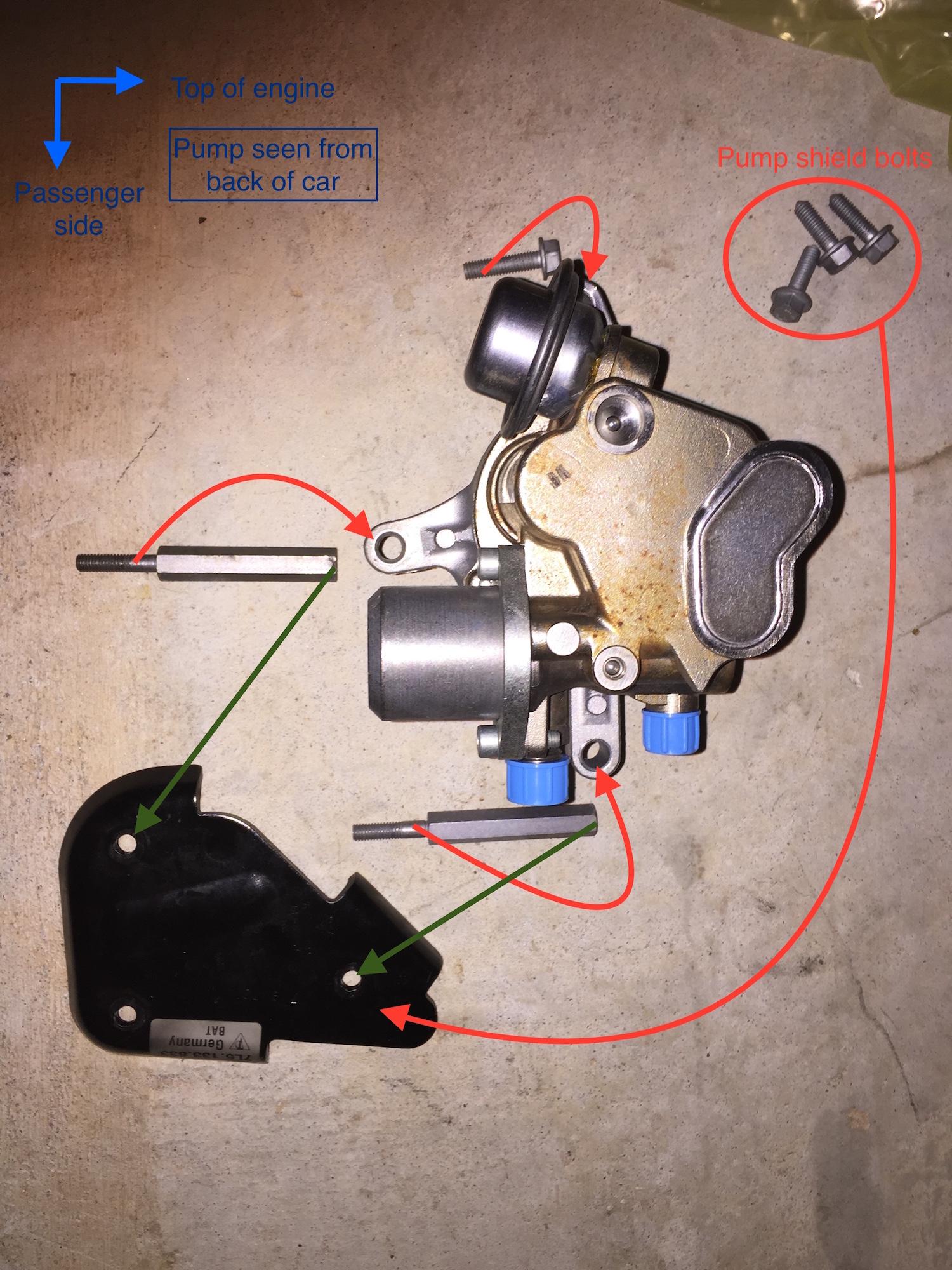Cayenne S 2007-2010 (957) High Pressure Fuel Pump (HPFP